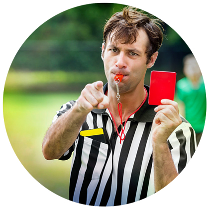 Referees appiontments for leagues and tournaments