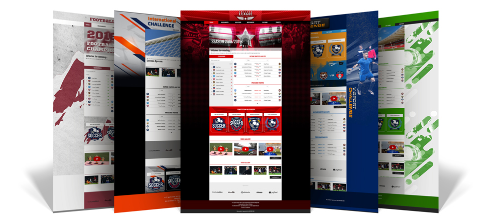 Professional website for your sports organisation