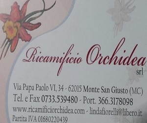 RICAMIFICIO ORCHIDEA