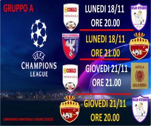 CHAMPIONS LEAGUE GRUUPO A