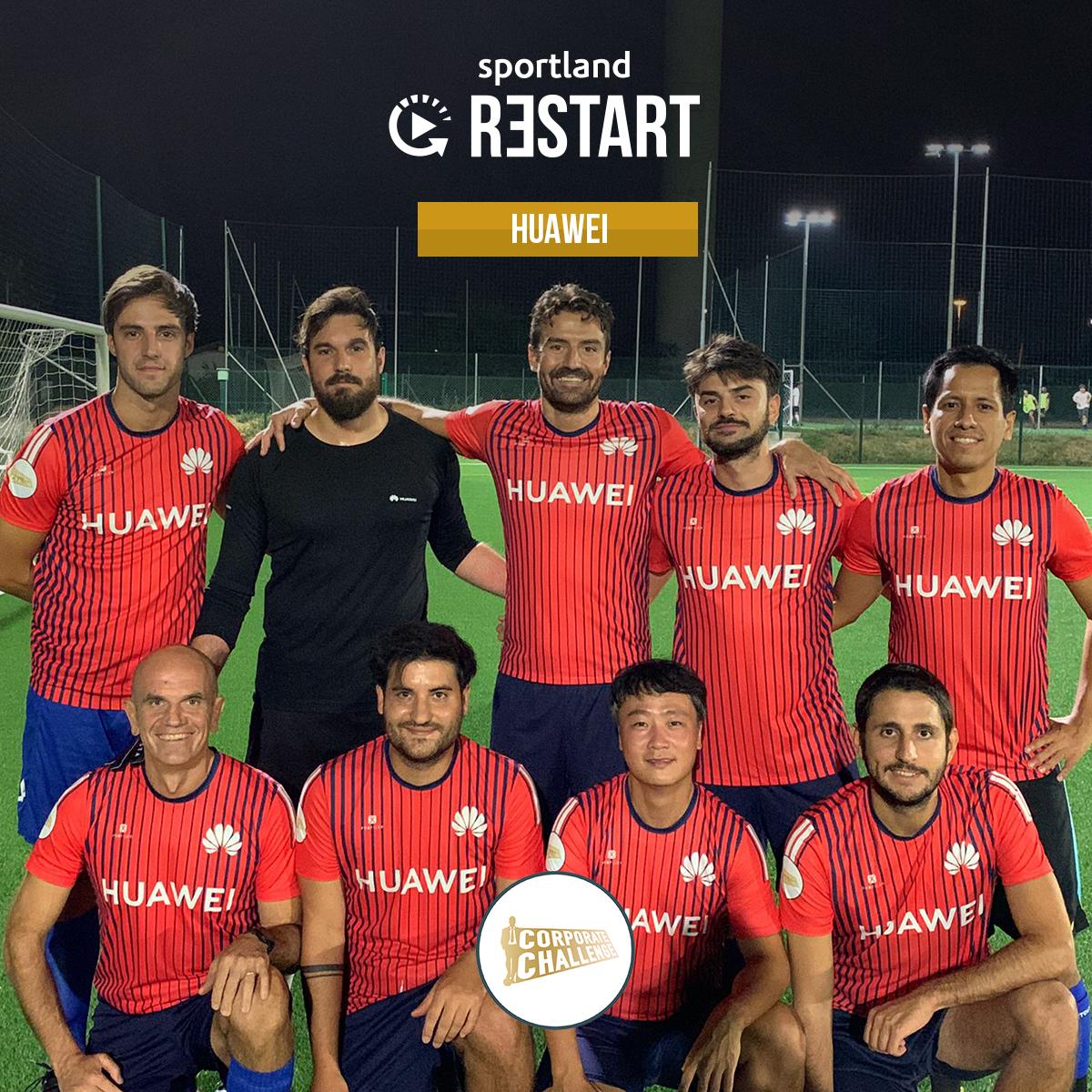 huawei torneo calcio aziendale milano sportland