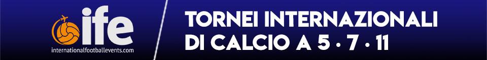 tornei internazionali calcio a 5 - 7 - 11