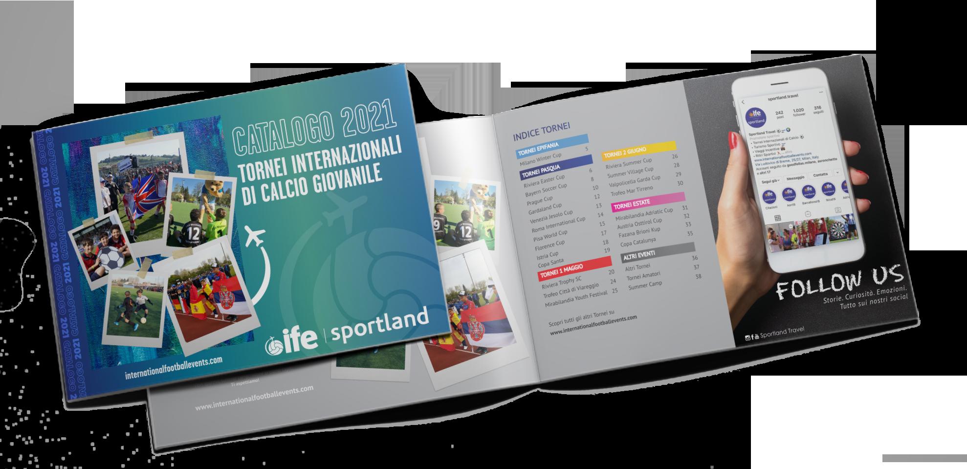 catalogo tornei calcio giovanile ife sportland 2021