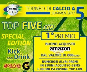 TOP FIVE CUP 2017