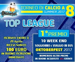 TOP LEAGUE Summer 2017