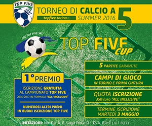 TOP FIVE Cup / Summer Edition